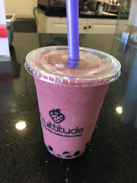 Acai Boba on my day off = breakfast. Yummmm