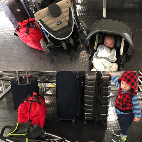 Cam's MT 1.0 vs 2.0 trip (age 4 months vs 1.25years)